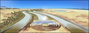 Projeto britânico quer produzir comida e energia em deserto