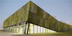 Concreto biológico cria fachadas verde