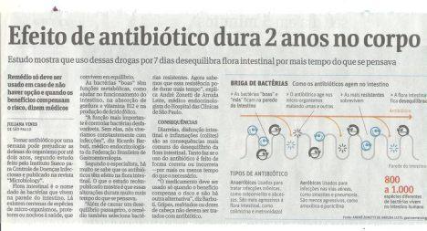 Não tome antibiótico por qualquer motivo