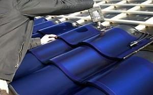 Placa solar com formato de telha_1