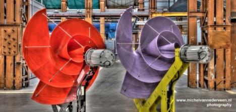 Turbina eólica silenciosa é ideal para uso em residências