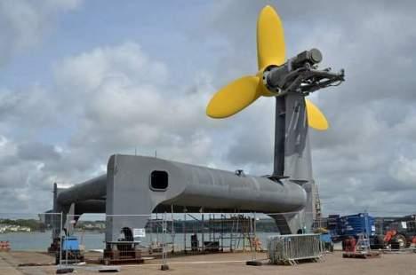 Turbina que explora energia das marés pronta para ser instalada 1