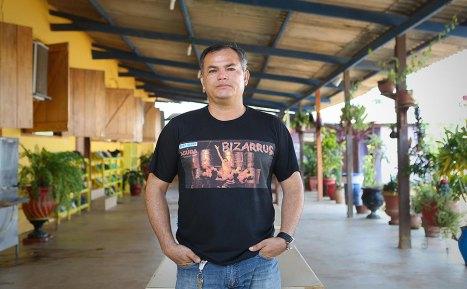 """""""Sempre andei com o trafico. Eu nunca fiquei tanto tempo num canto como estou hoje."""" Pedro Lima, ex-detento e coordenador terapêutico da ONG."""