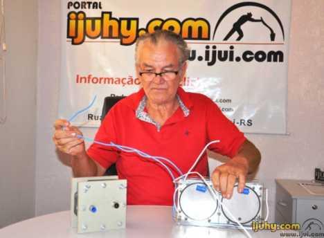 Ijuiense cria invento que gera até 60% de economia de gasolina