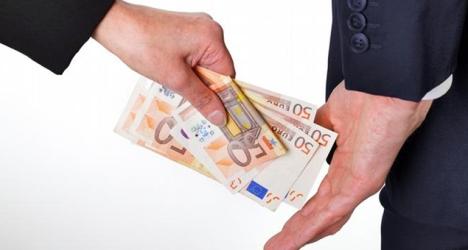 corrupção-suborno