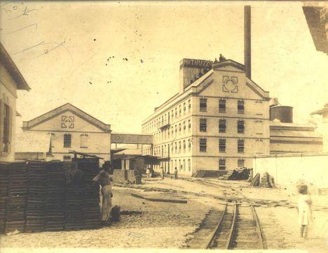 Moinho Matarazzo, em 1900.