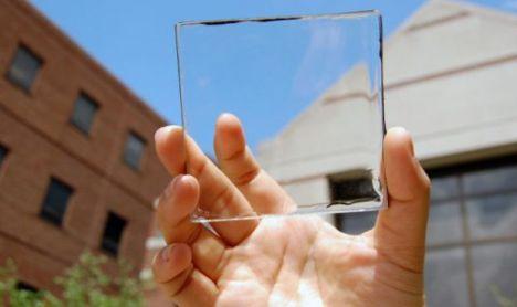 Placa solar transparente pode ser usada até em telas de smartphones
