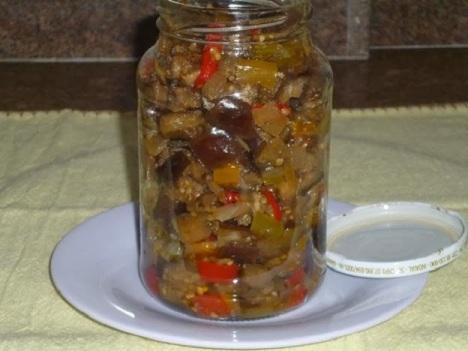 Receita de conserva de berinjela
