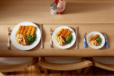 3 pratos 1