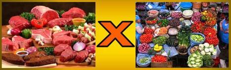 Carnes-x-Vegetais