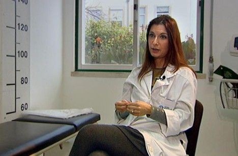 Júlia Galhardo, pediatra.
