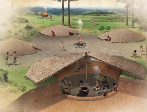 Casas subterrâneas Kaingang 1
