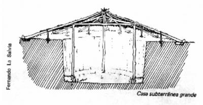 Casas subterrâneas Kaingang 6