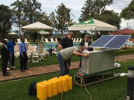 Suecos criam máquina solar capaz de purificar 600 litros de água-hora 2