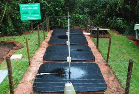 Fossa séptica biodigestora beneficia 57 mil pessoas no campo