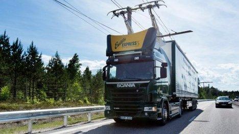 Primeira estrada eletrificada inaugurada na Suécia 1