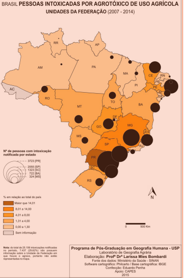 Um Atlas de nossa agricultura envenenada 1