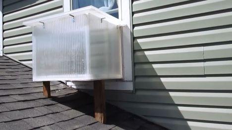 Aprenda a fazer um aquecedor solar para janela que também funciona como forno 1