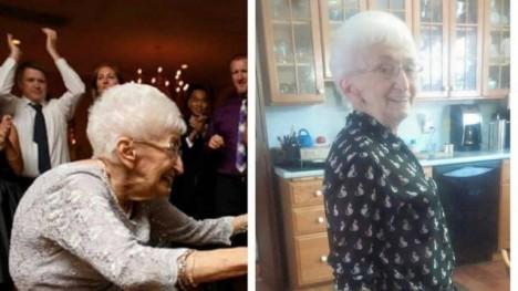 Idosa de 87 anos muda de postura e de vida após começar a praticar yoga 1