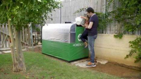 Máquina converte alimentos desperdiçados em gás de cozinha 1