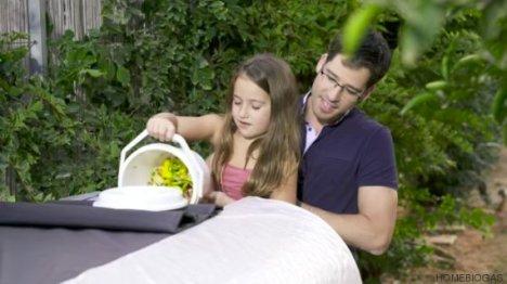 Máquina converte alimentos desperdiçados em gás de cozinha 2