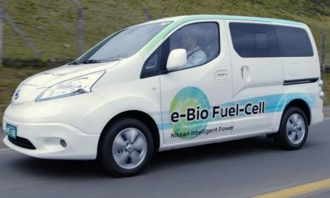 Nissan faz pilha alimentada com etanol para aumentar autonomia de elétricos