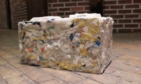 Tijolo ecológico feito de lixo jogado no mar é o caminho para construir um futuro melhor 1
